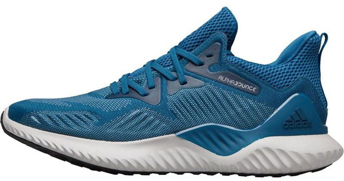 bd49f4ea2 adidas Alphabounce Beyond Neutral Running Shoes Real Teal real Teal ash Grey  in Blue for Men - Lyst