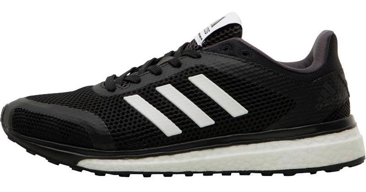 cfaf78b423ed adidas Response Plus Boost Neutral Running Shoes Core Black white utility  Black in Black - Lyst