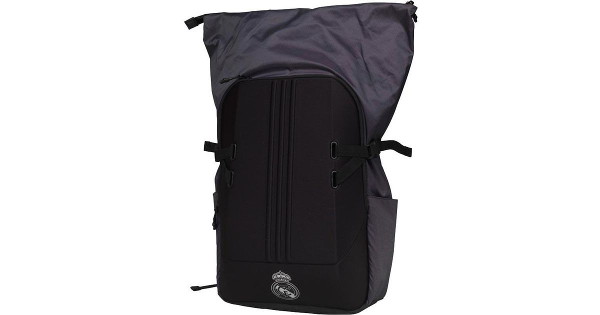 bed66cac4 adidas Rmcf Real Madrid Z.n.e Backpack Black in Black for Men - Lyst