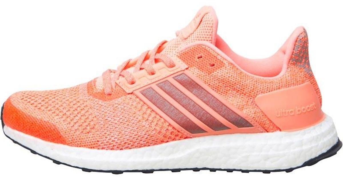 size 40 b623c 0755f adidas Ultraboost St Stability Running Shoes Sun Glow super Orange core  Black in Orange - Lyst