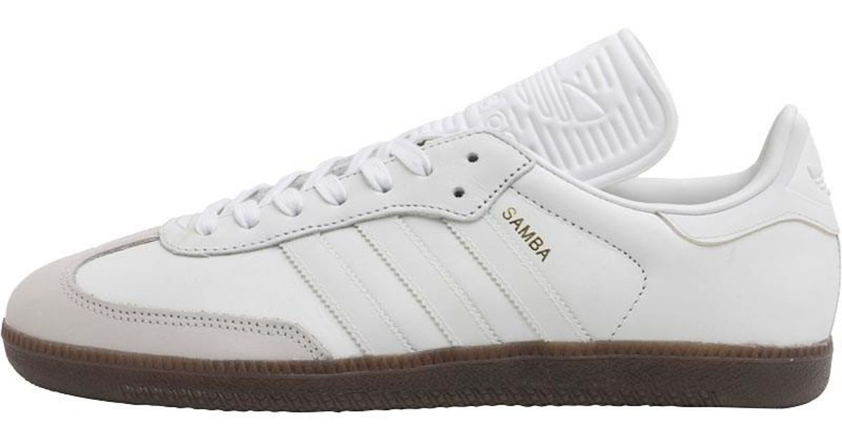 f0c3291c7d6c adidas Originals Samba Classic Og Trainers Vintage White reflective pearl  Grey for Men - Lyst