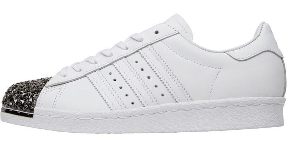uk availability 1e825 c1e89 Adidas Originals Superstar 80s 3d Metal Toe Trainers White/white/core Black