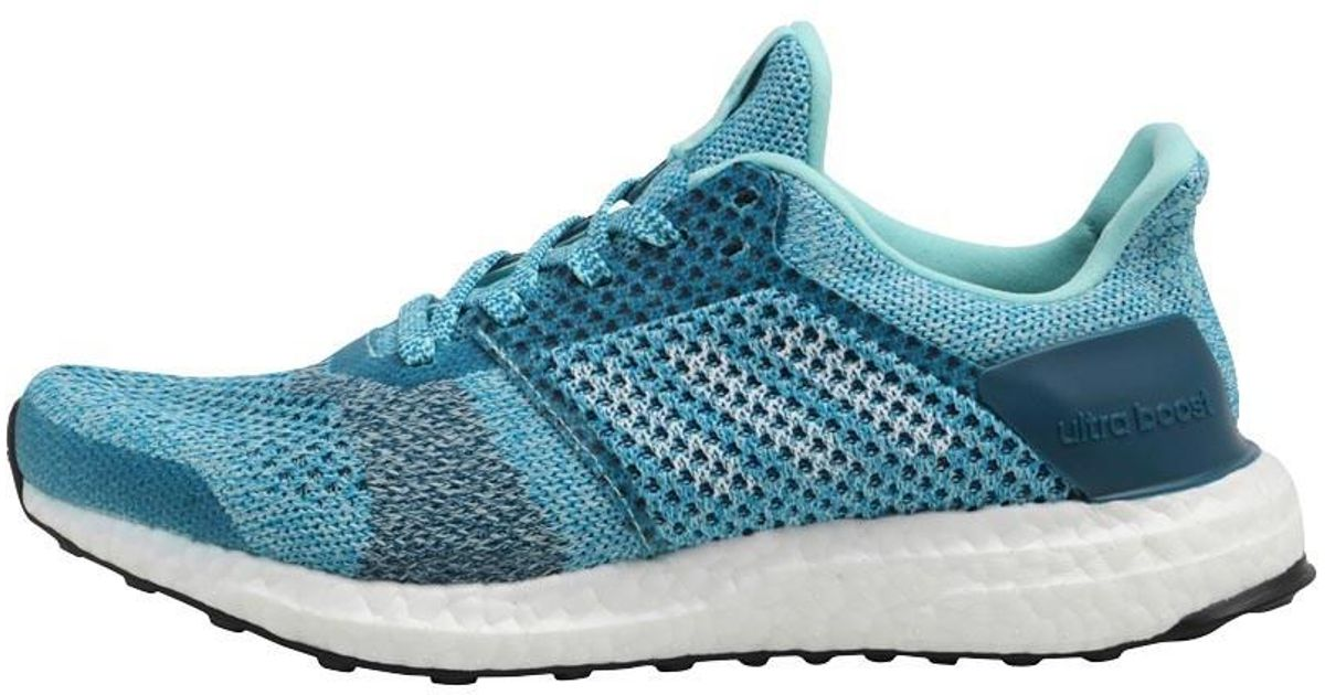 9c3e961d45e adidas Ultraboost St Stability Running Shoes Energy Aqua footwear White mystery  Petrol in Blue - Lyst