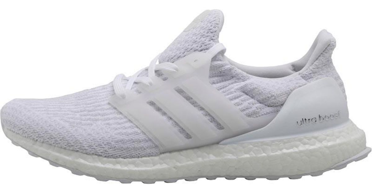 ecff00156cb07 Adidas - Ultraboost Neutral Running Shoes Footwear White/footwear  White/crystal White for Men - Lyst