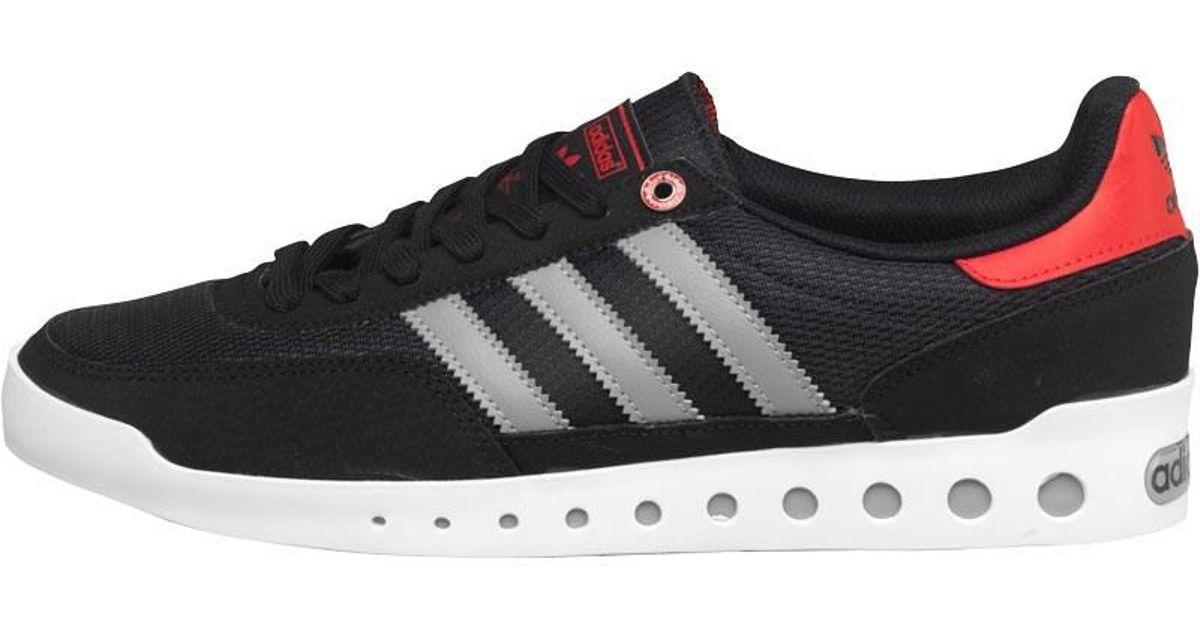 7605a31edc8de adidas Originals Training Pt Trainers Core Black/solid Grey/red in Black  for Men - Lyst