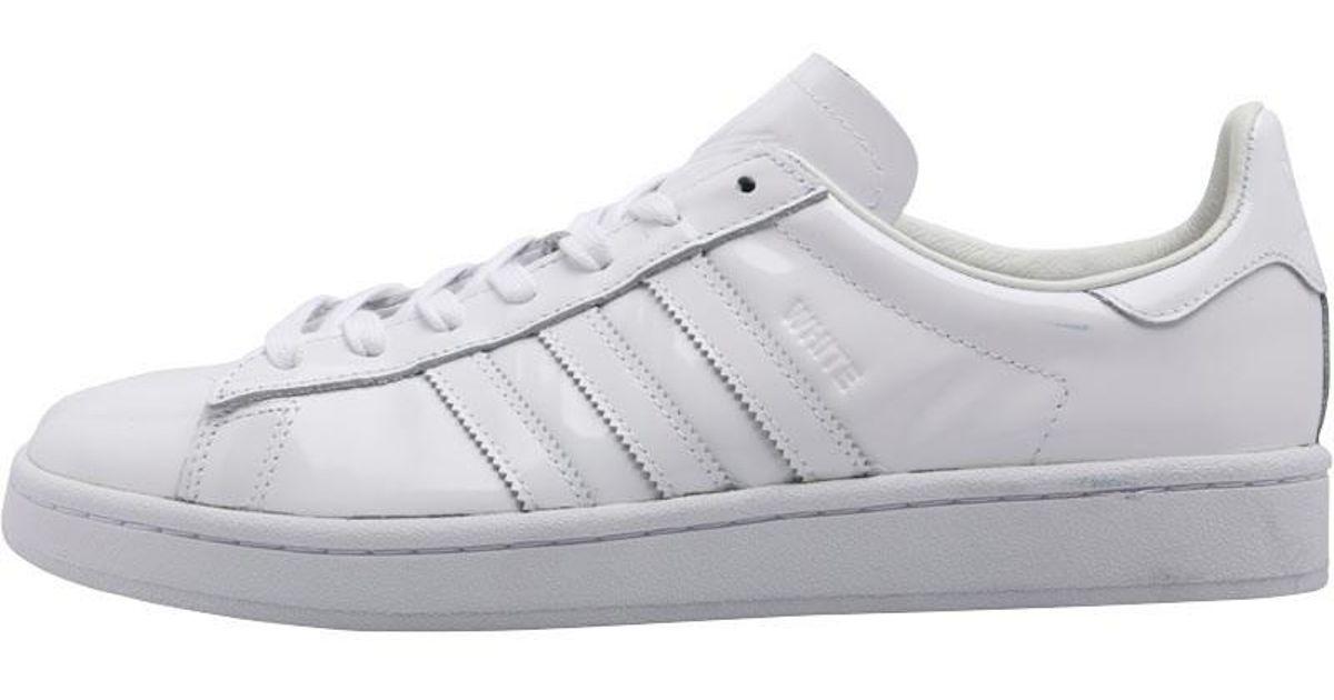 9c2478aece98 adidas Originals X White Mountaineering Campus Trainers Footwear White  footwear White footwear White in White for Men - Lyst