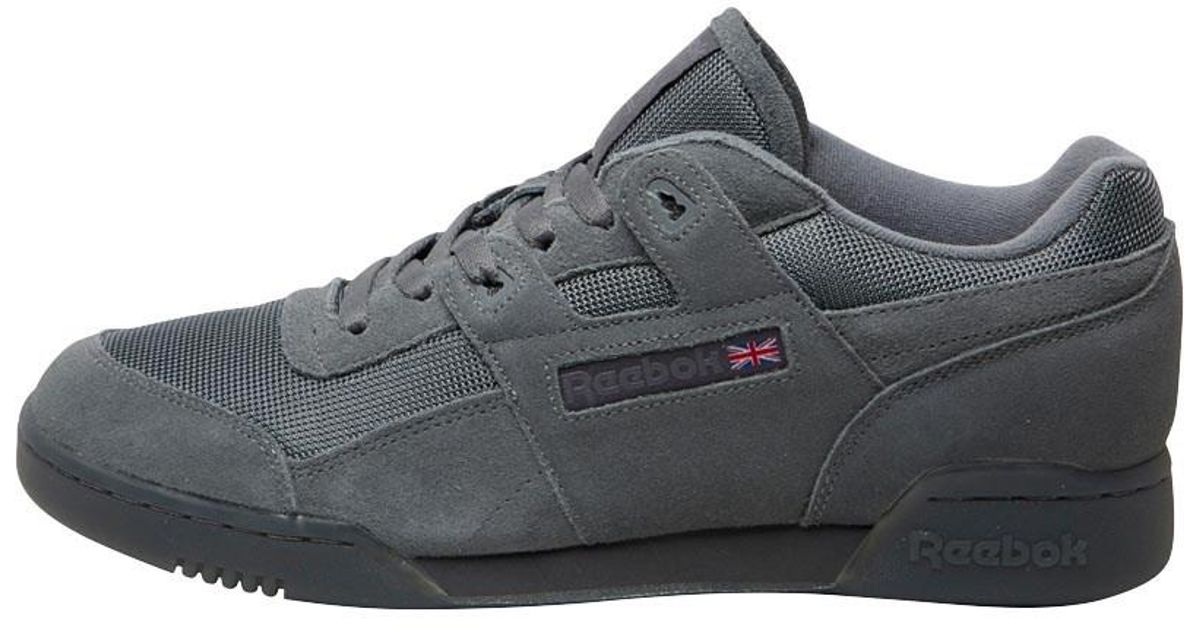 a03a5cab5ad Reebok Workout Plus Tn Trainers Alloy ash Grey in Gray - Lyst