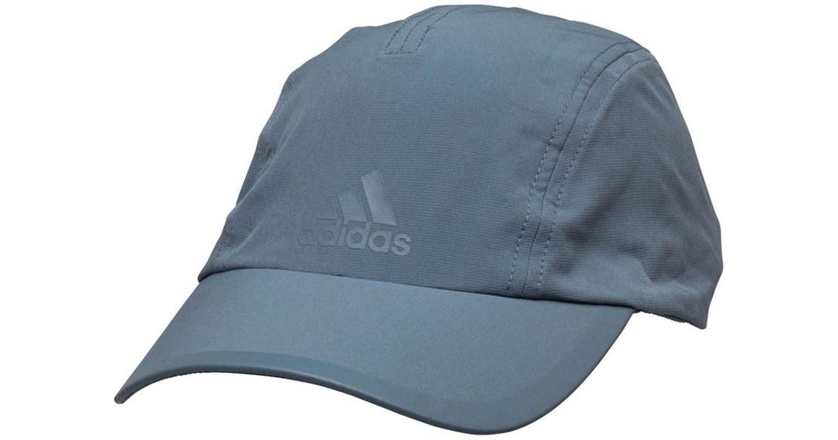 Adidas Climalite Running Cap Raw Steel raw Steel in Gray for Men - Lyst a72d77dfe31