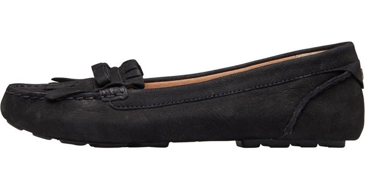 caa8d6cd35a UGG Whitley Driver Shoes Black in Black - Lyst