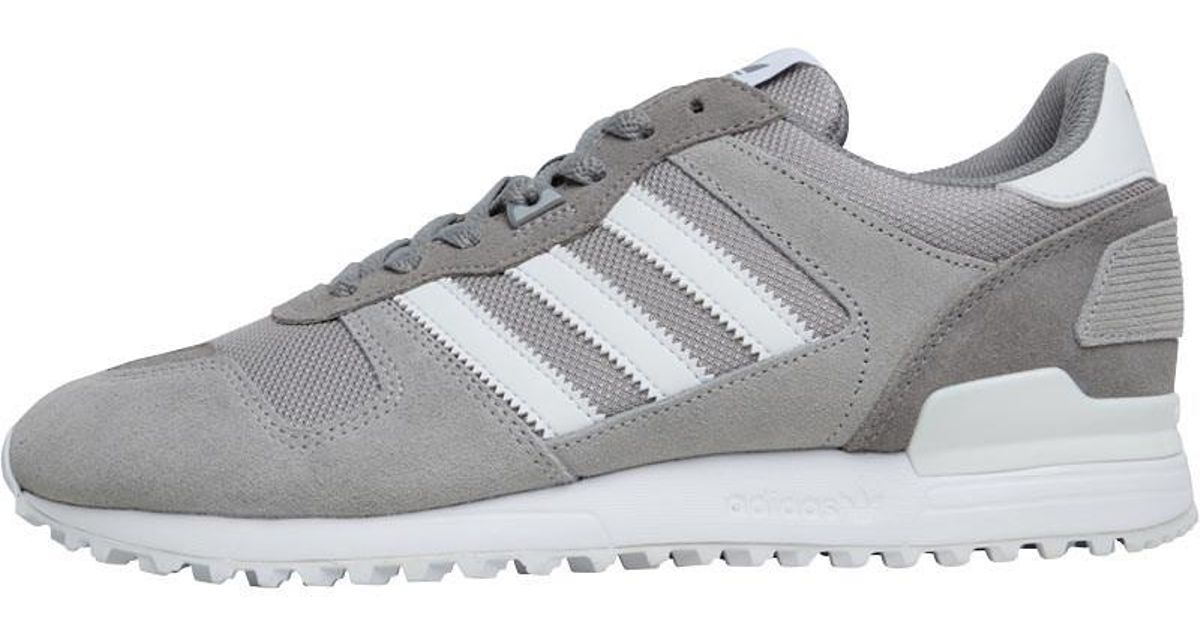 f52480076 adidas Originals Zx 700 Trainers Charcoal Grey footwear White solid Grey in  Gray for Men - Lyst