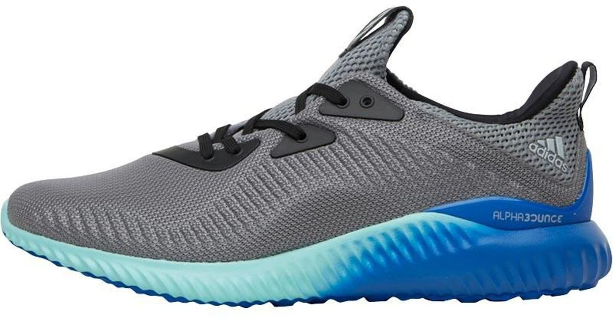 87ba7f392792e Adidas Alphabounce 1 Neutral Running Shoes Grey clear Onix clear Aqua in  Gray for Men - Lyst