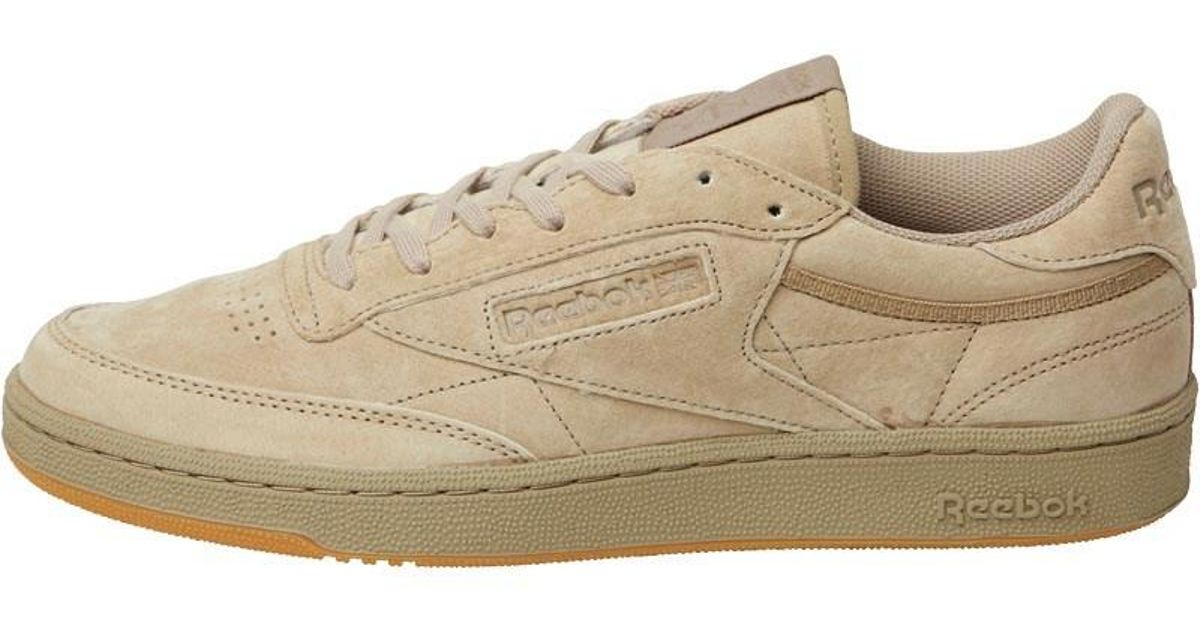 2d2622e35f227 Reebok Club C 85 Tg Trainers Canvas gum in Brown for Men - Lyst