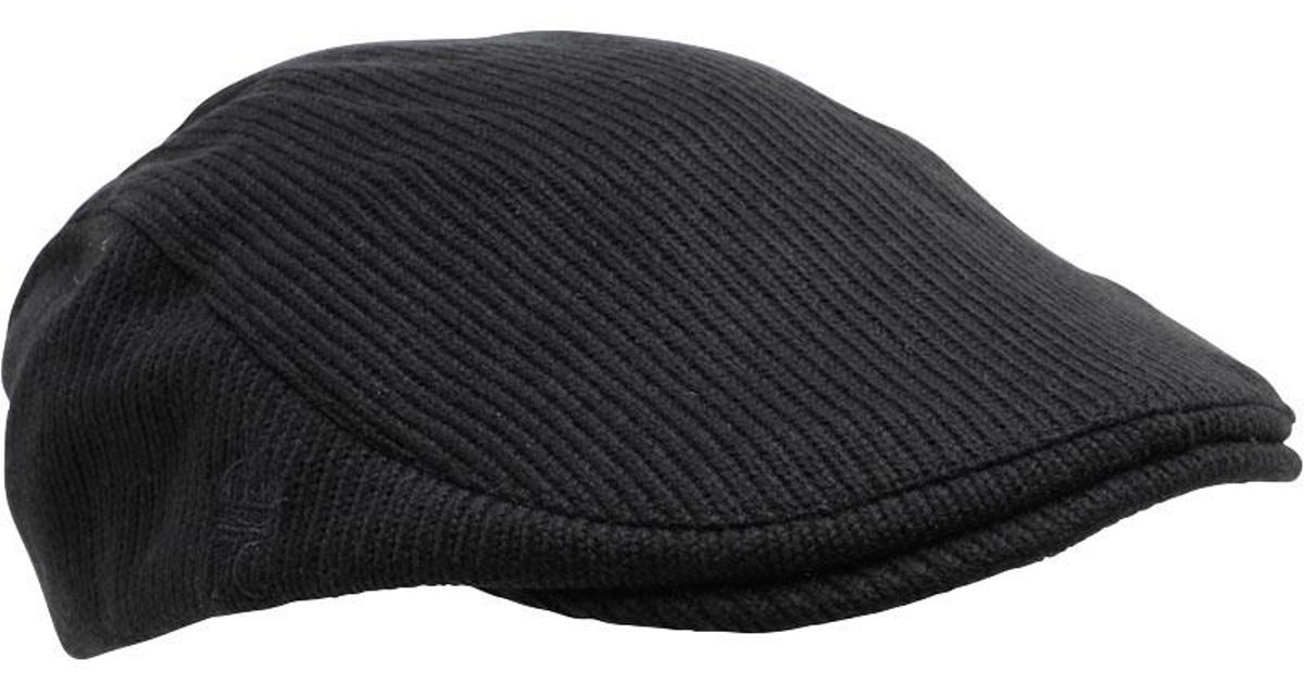 French Connection Travis Flat Cap Black in Black for Men - Lyst c3bda43e6e91