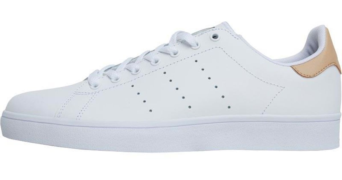 info for fca08 31107 adidas Originals Stan Smith Vulc Trainers Footwear White pale Nude gold  Metallic in White for Men - Lyst