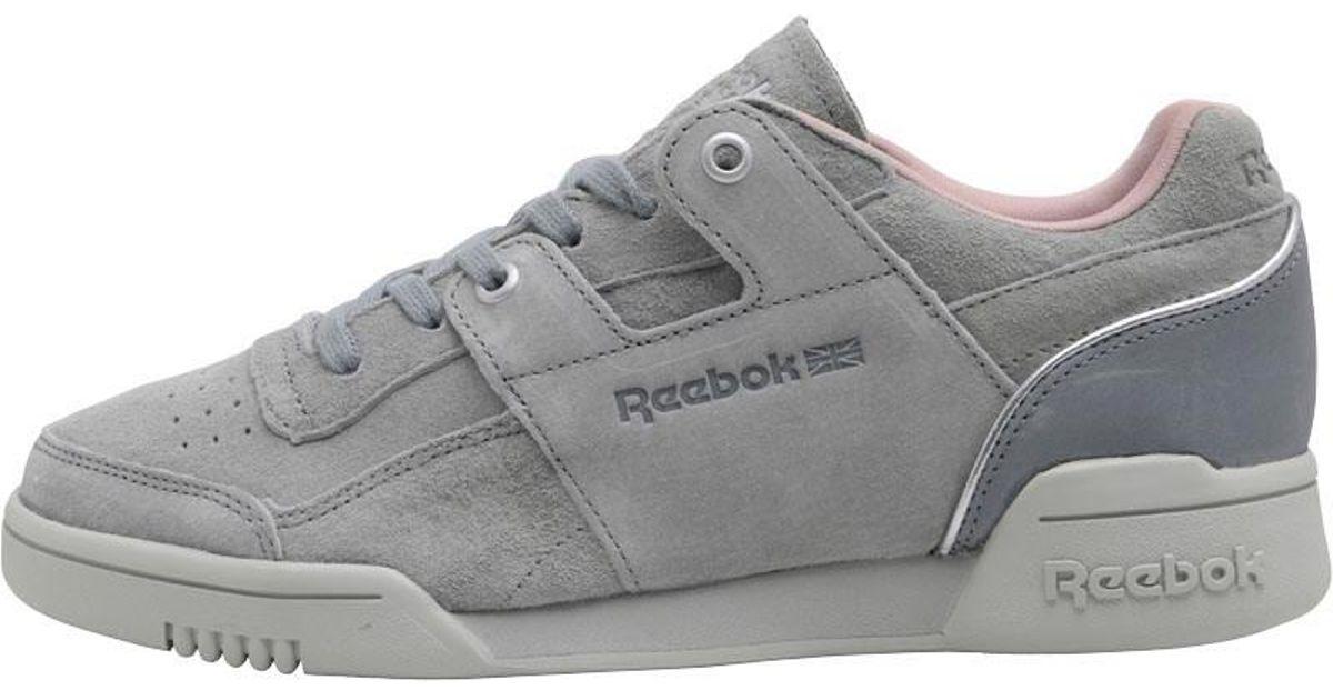 Reebok Classics Workout Lo Plus Golden Neutrals Trainers Grey flint Grey  skull Grey silver in Gray - Lyst ee1453902