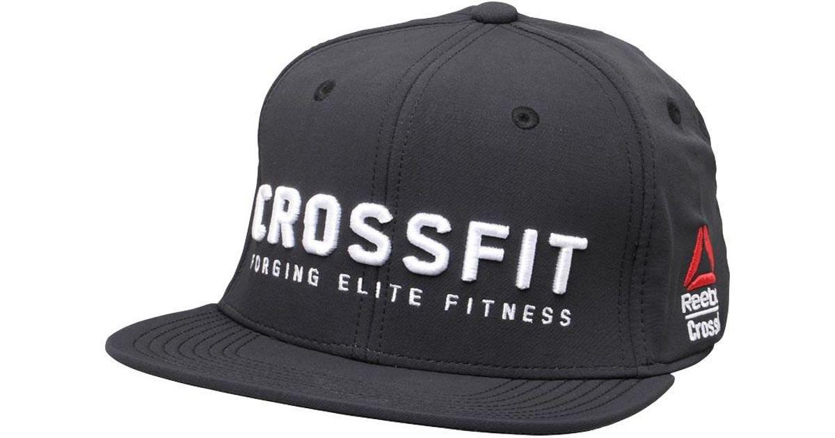 b137a79a498f98 Reebok Crossfit A-flex Cap Black in Black for Men - Lyst