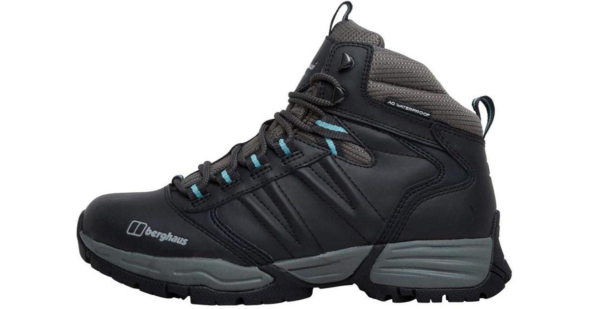 48fcd01a0ce Berghaus Expeditor Aq Ridge Tech Hiking Boots Black blue in Black - Lyst