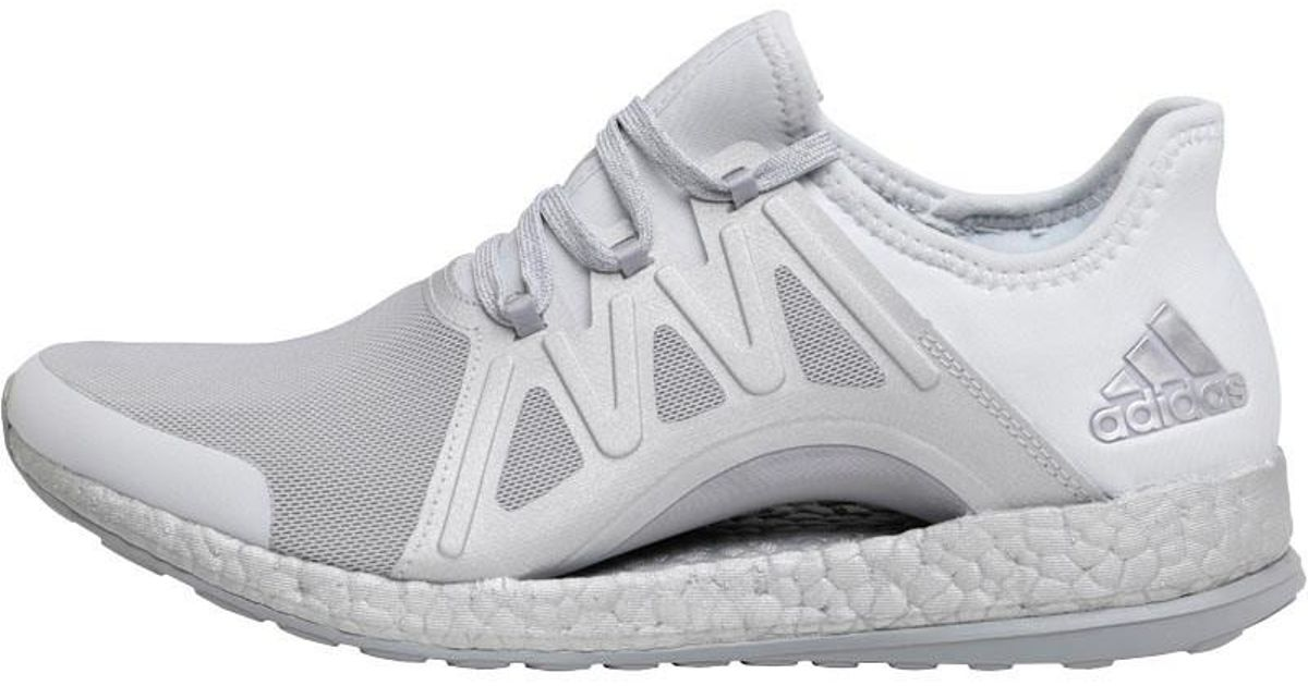 1054bbcaea1b3 adidas Pure Boost Xpose Neutral Running Shoes Clear Grey footwear White mid  Grey in Gray - Lyst