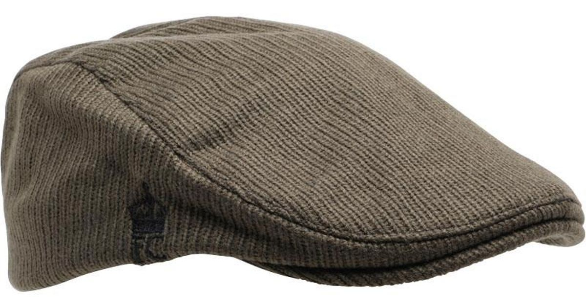 c4eff819e3b French Connection Travis Flat Cap Khaki in Natural for Men - Lyst