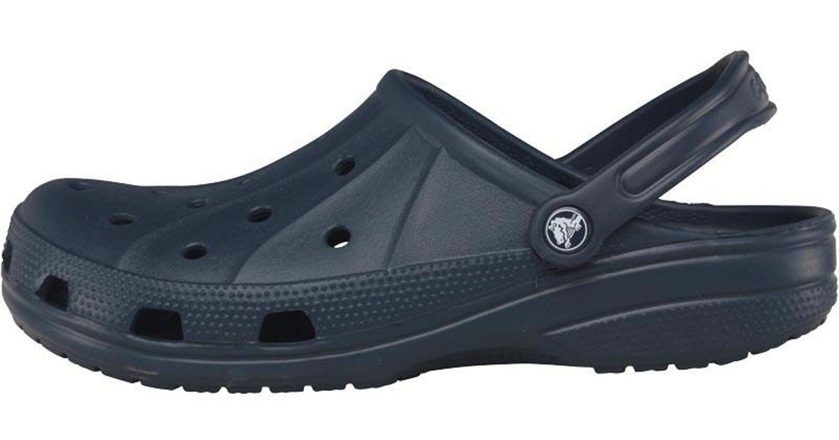 480ad0b673 Crocs™ Adults Ralen Clogs Navy in Blue for Men - Lyst