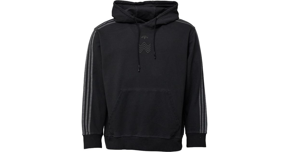 37d9c2dab3d2 adidas Originals X Alexander Wang Bleach Hoody Black in Black for Men - Lyst