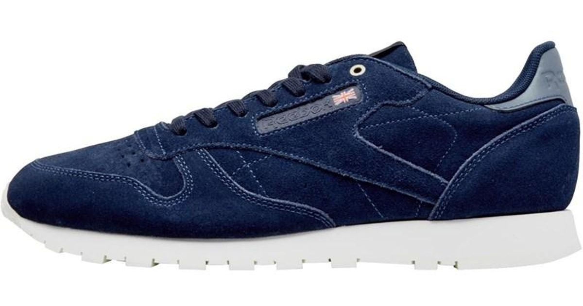 Reebok X Montana Cans Collaboration Leather Trainers Blue Note chalk in Blue  for Men - Lyst 2e13f5437