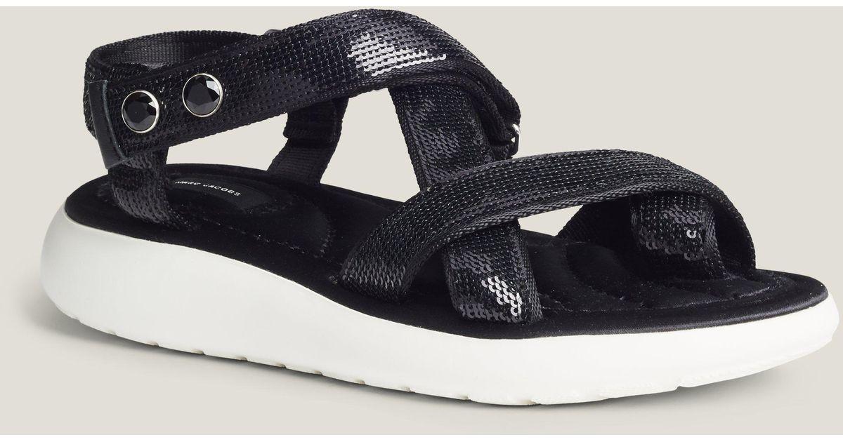 1f333b7a007 Lyst - Marc Jacobs Comet Sport Sandal in Black