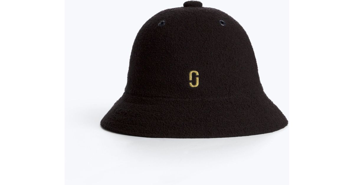 Lyst - Marc Jacobs Kangol Bucket Hat in Black c6a522411fa