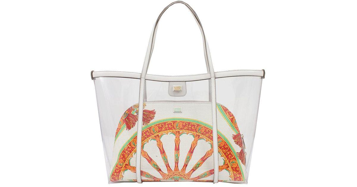 Lyst - Dolce   Gabbana East west Escape Shopper 45334e054e