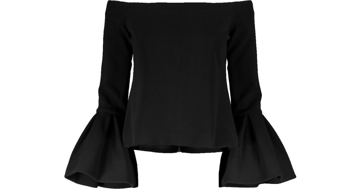 a404a3922466be Lyst - Alexis Tess Bell Off Shoulder Top in Black