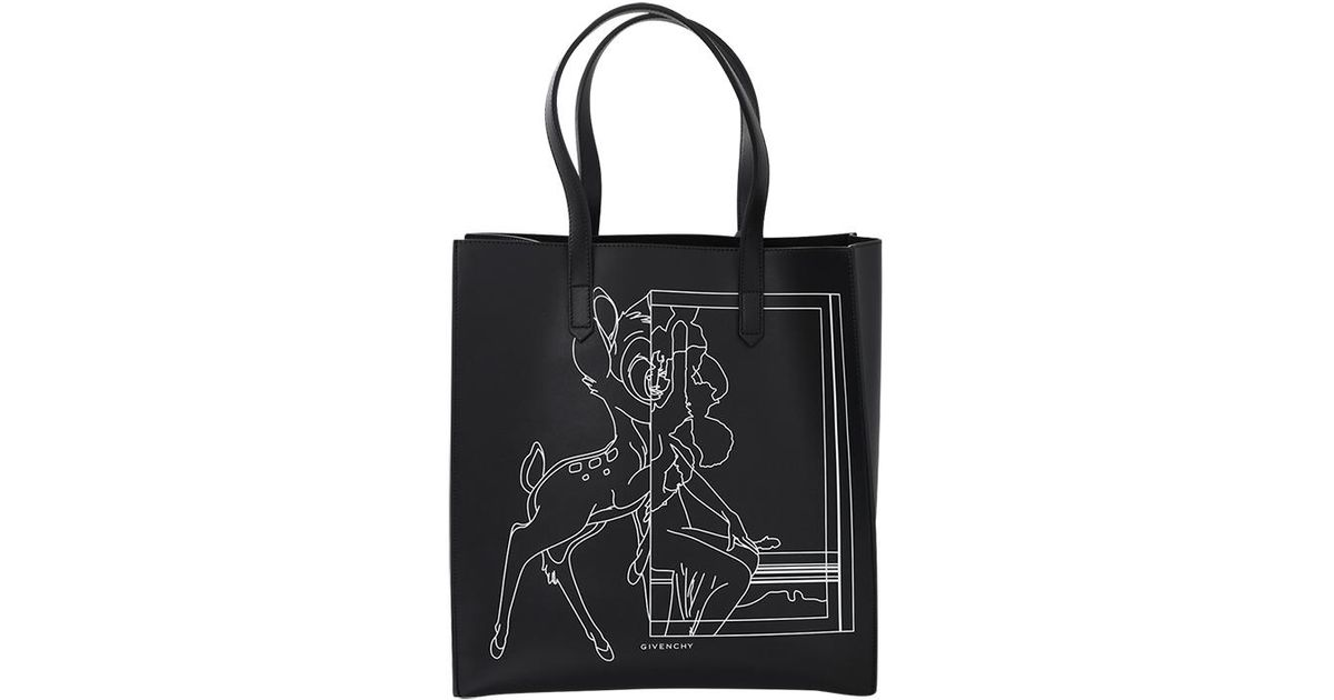 dae872de77 Lyst - Givenchy Stargate Bambi Tote in Black
