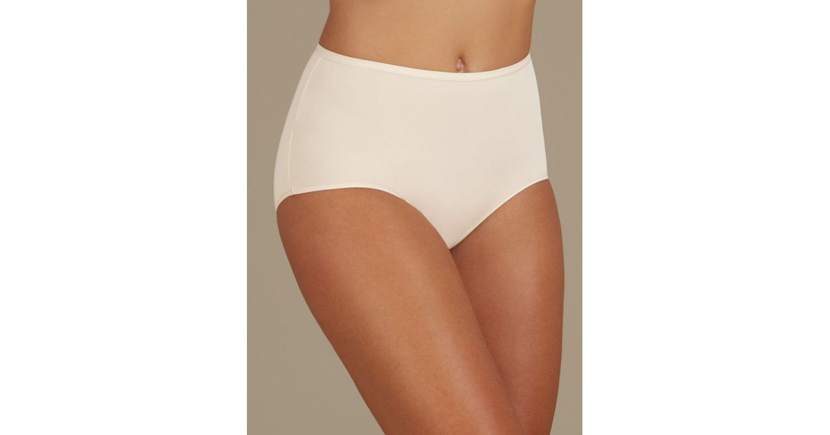 ab2164f1c687 Marks & Spencer 5 Pack No Vpl Microfibre High Rise Full Briefs in Natural -  Lyst