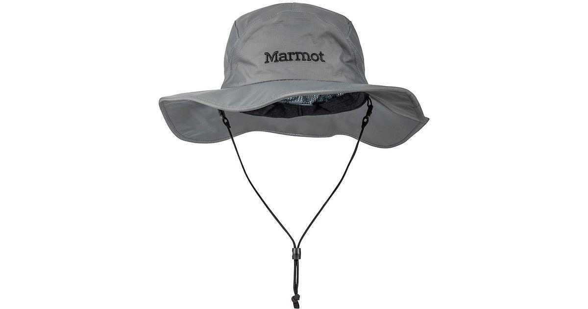 Lyst - Marmot Precip Safari Hat in Gray for Men 428b1e3cf067