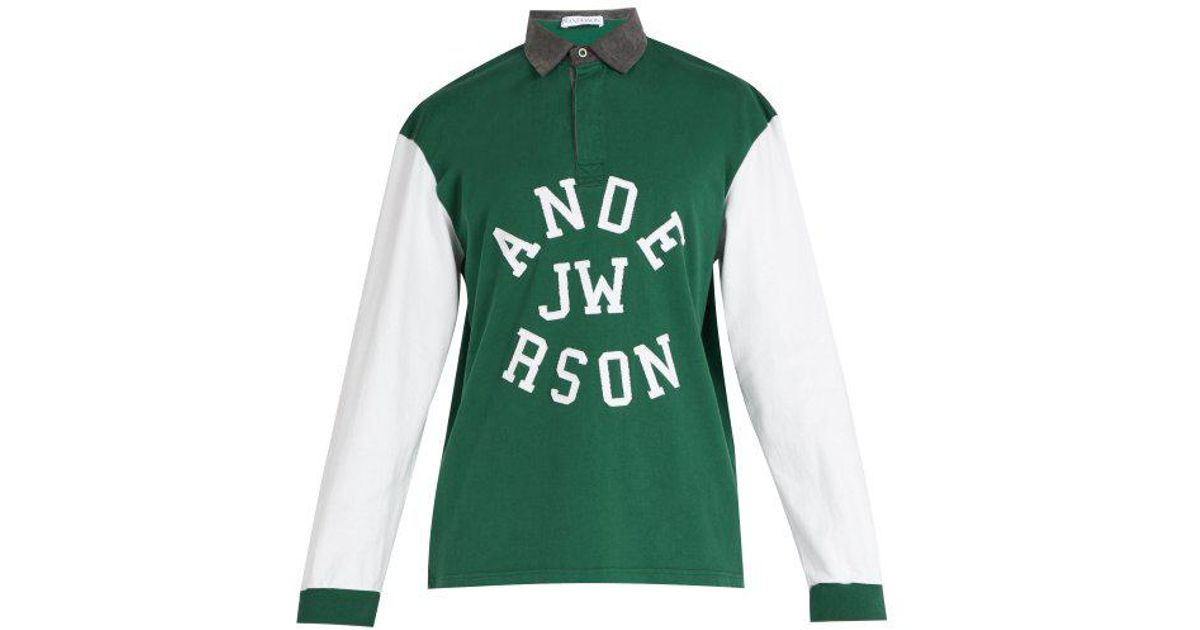 Clearance Exclusive Shop Offer Cheap Price Logo-appliqué cotton polo shirt J.W.Anderson MrhBWKhH