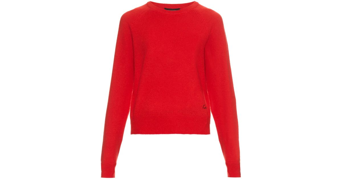 79db2bb731f Equipment - Red X Kate Moss Ryder Cashmere Sweater - Lyst