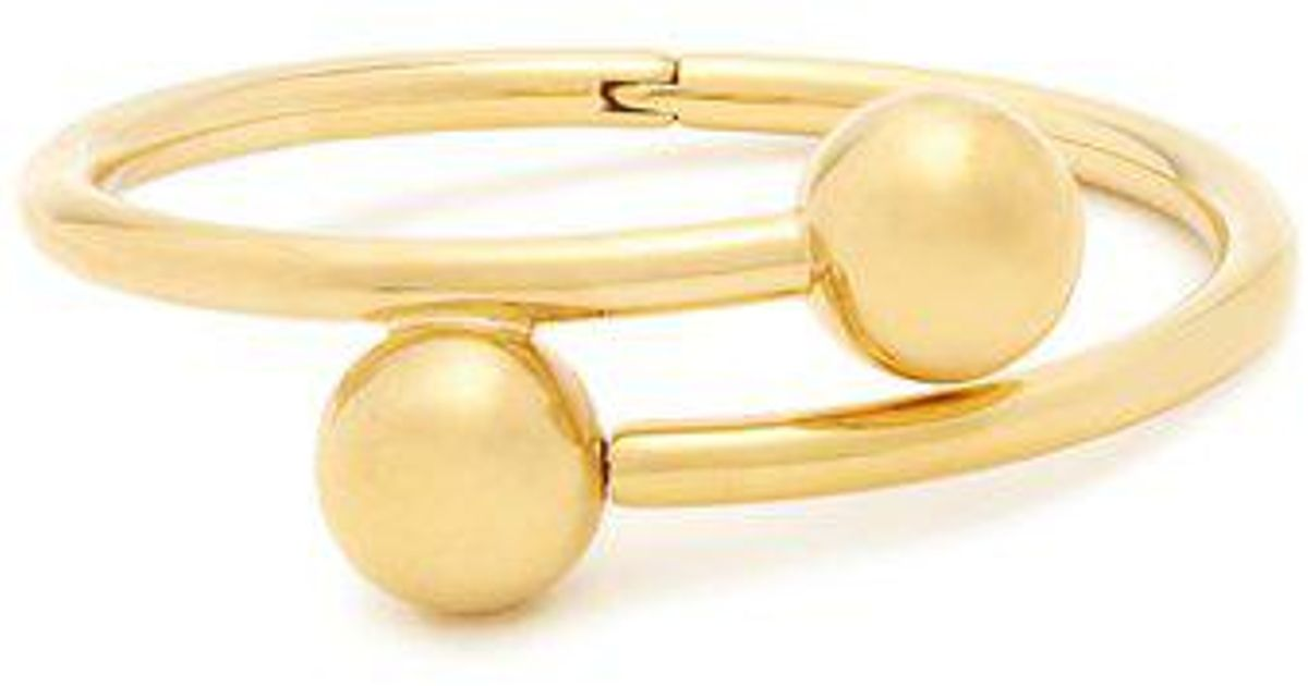 J.W.Anderson Golden Pierce plated bangle 8OUuL