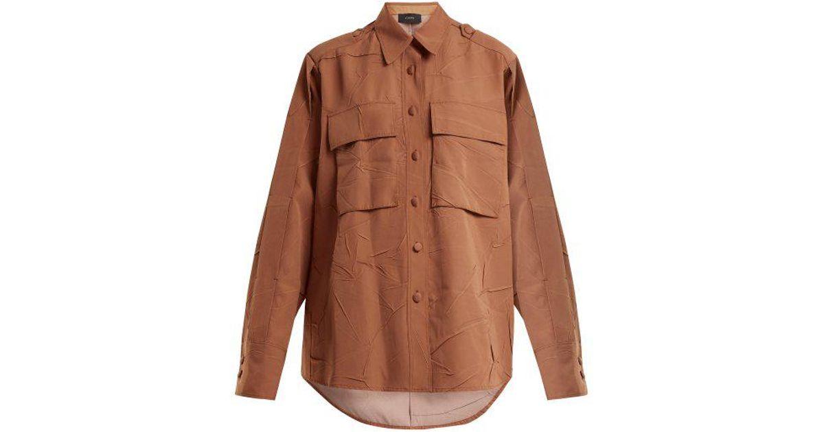 Buy Online Cheap Jim patch-pocket blouse Joseph Outlet Cheap Prices Shop For Cheap Online Outlet 100% Guaranteed Cheap Excellent UH8FCBph