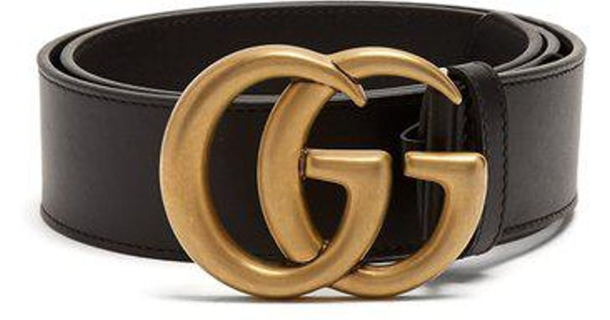bf6a476dc71 Lyst - Gucci Gg Marmont Belt in Black