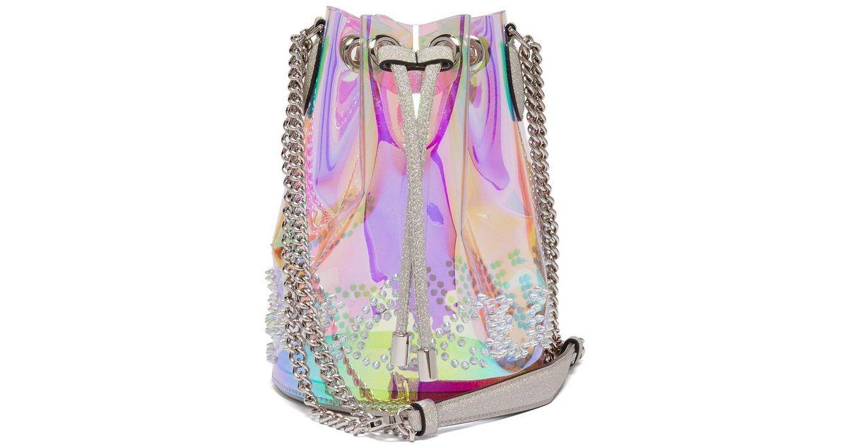 4737b0d5064 Christian Louboutin Multicolor Marie Jane Pvc Bucket Bag