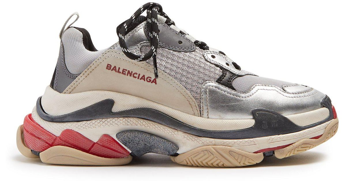 8ac9440b5260 Lyst - Balenciaga Triple S Low-top Trainers