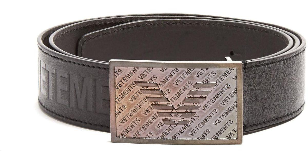 Billedresultat for vetements bouncer embossed belt