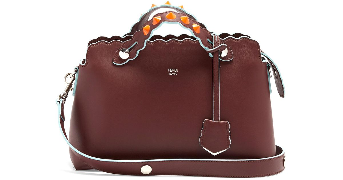 By The Way leather and ayers cross-body bag Fendi 5Sm4OH