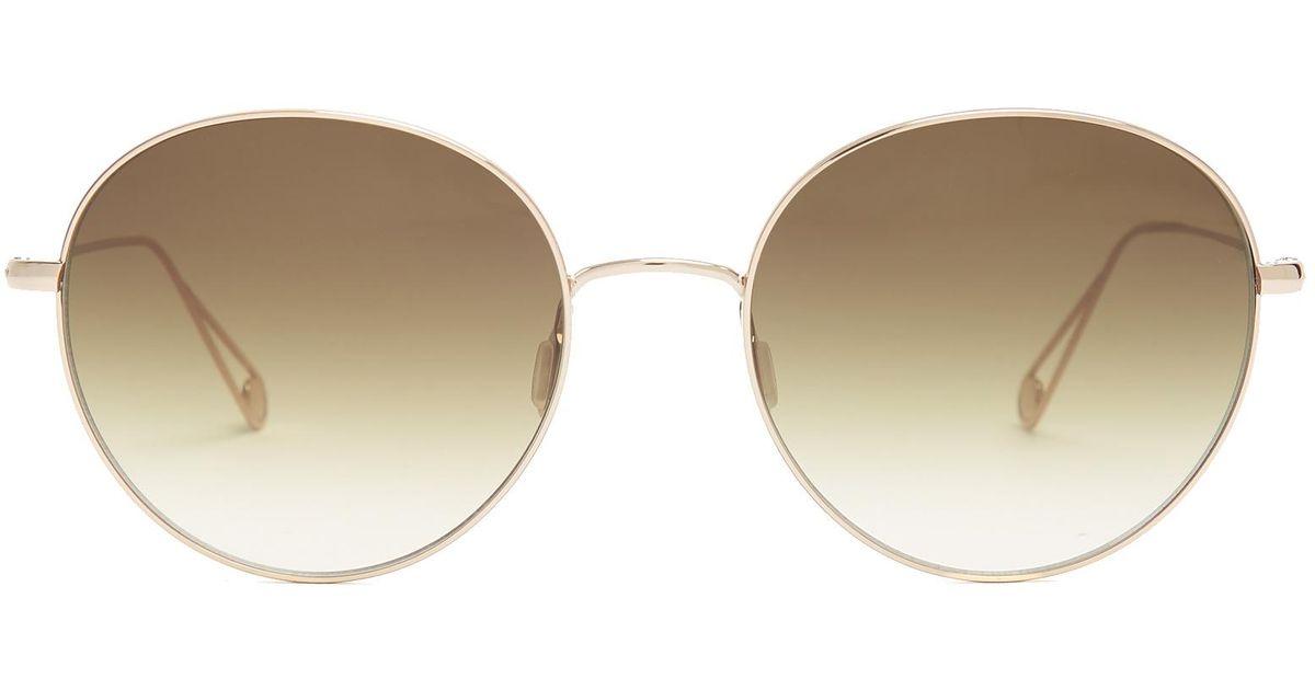 Valencia 54 round-frame glasses Garrett Leight CSJAlhm