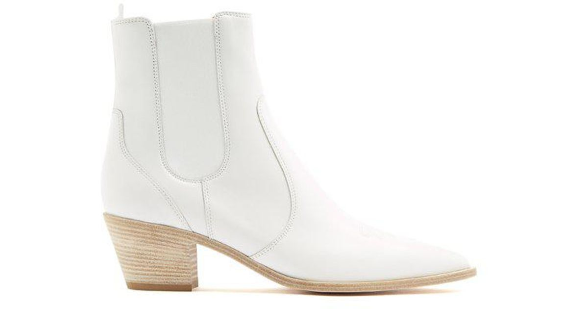 Austin 45 Leather Chelsea Boots - White Gianvito Rossi Buy Sale Online 100% Original Fast Delivery Cheap Online Sale With Mastercard Buy Cheap 100% Original LBze1