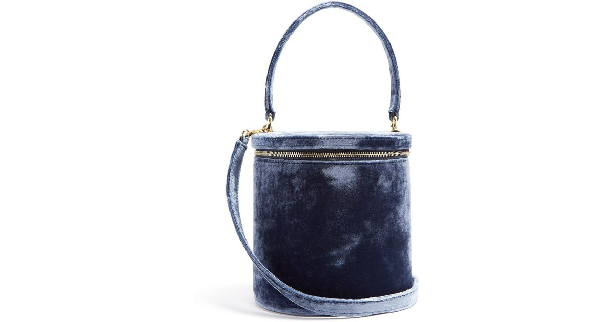 Vitti velvet bucket bag Staud oYACWso2i