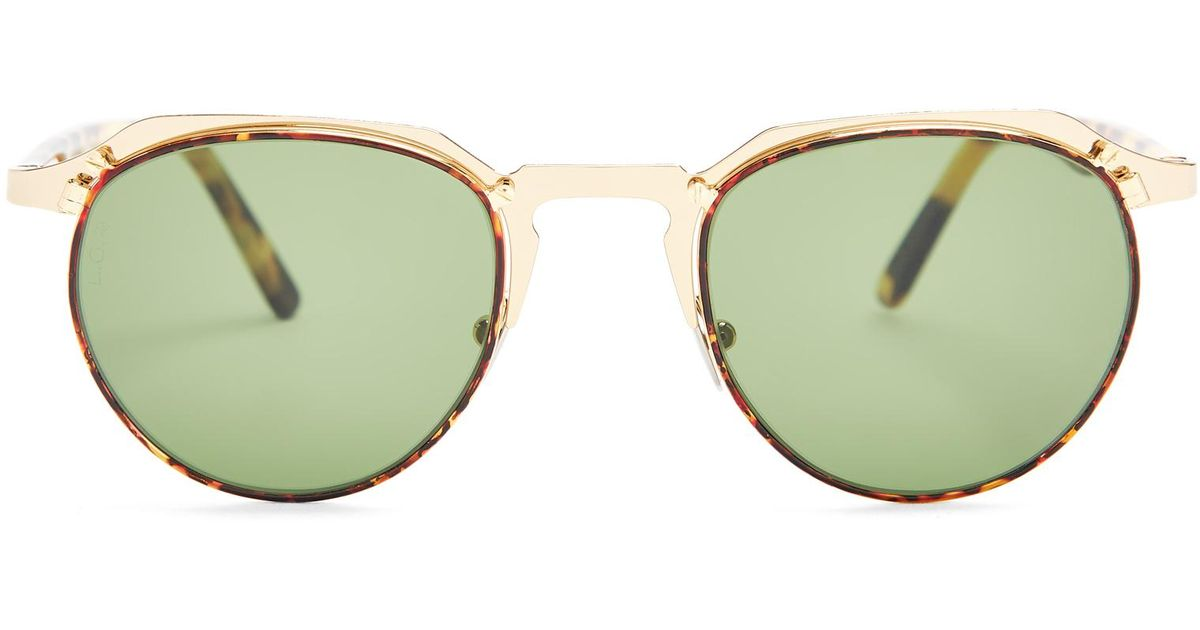 673167efd5 Lyst - Lgr Scorpio Two-tone Metal Sunglasses for Men