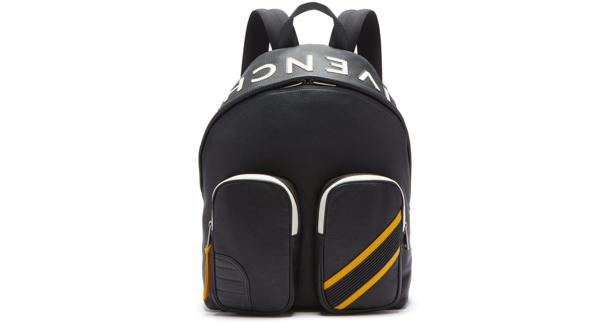 5286a0b30d Lyst - Givenchy Mc3 Leather Backpack in Black for Men