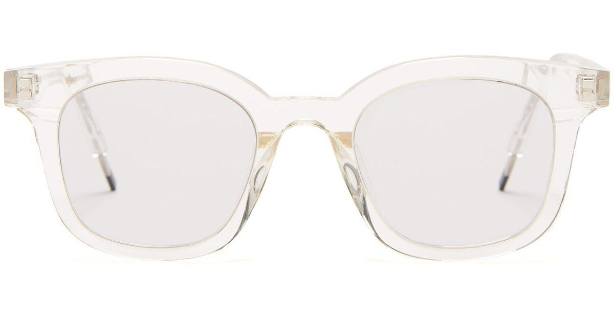 0773d4ec6762 Lyst - Gentle Monster Dal Lake Acetate Glasses in White for Men