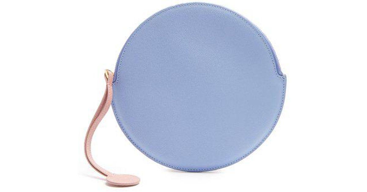 Round pebbled-leather pouch Roksanda Ilincic SbTC0s4