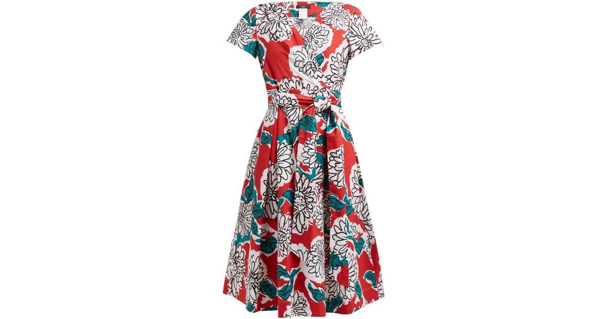 d3b262d472c Lyst - Weekend by Maxmara Oronte Dress in Red